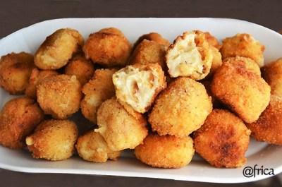 croquetas queso de cabra
