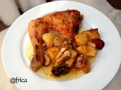 Pollo al hono sencillo