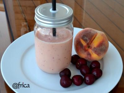 Smothie de frutas. imagen blog